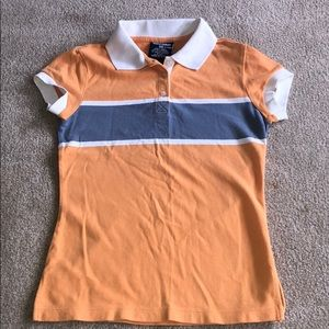 2/$20 Vintage Ralph Lauren orange collared shirt
